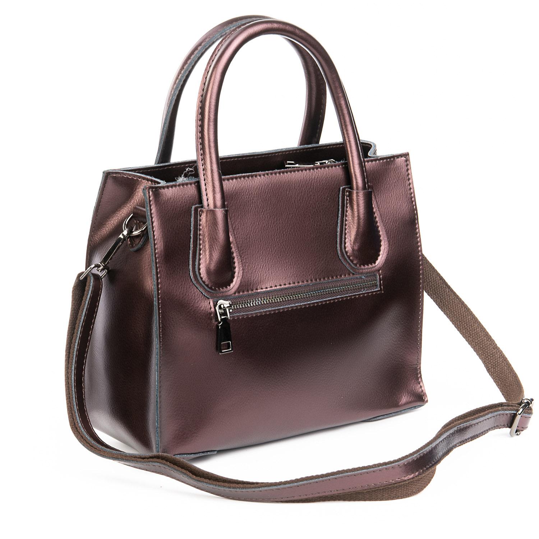 Сумка Женская Классическая кожа ALEX RAI 08-4 1527 brown