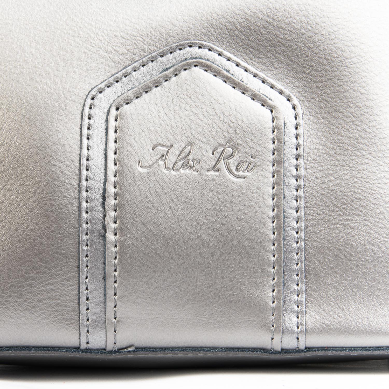 Сумка Женская Классическая кожа ALEX RAI 08-4 8641 grey