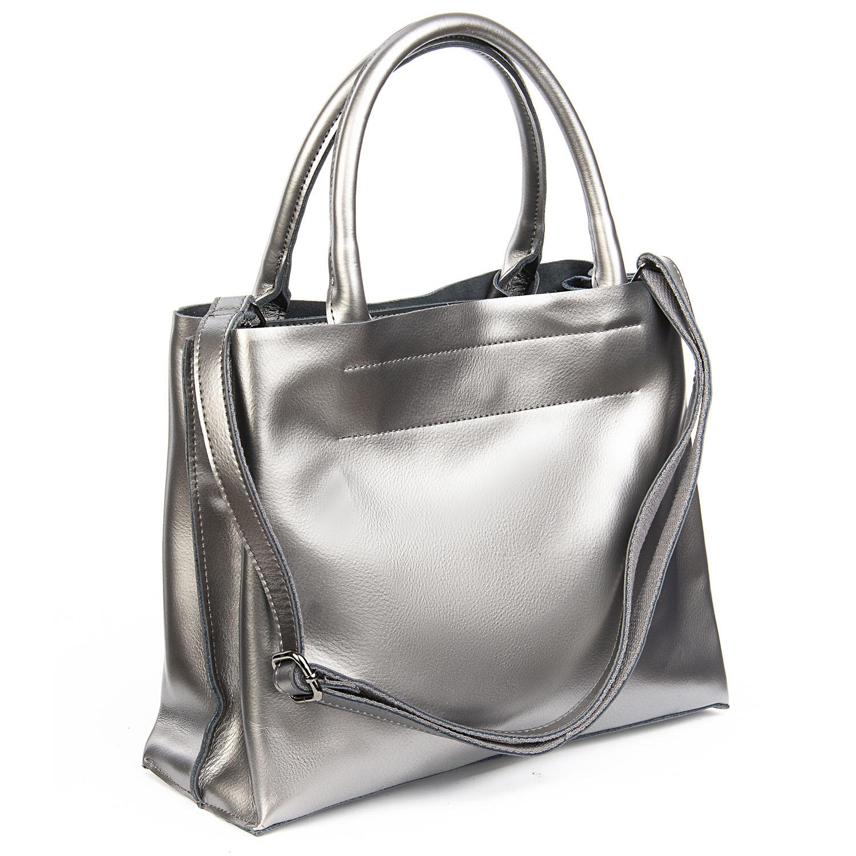Сумка Женская Классическая кожа ALEX RAI 08-4 8550-1 grey