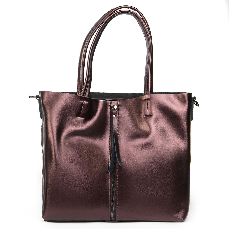 Сумка Женская Классическая кожа ALEX RAI 08-4 8704 brown