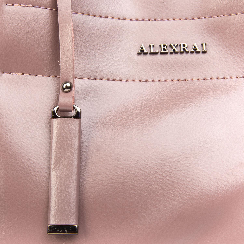 Сумка Женская Классическая кожа ALEX RAI 08-4 8550-1 purple - фото 3