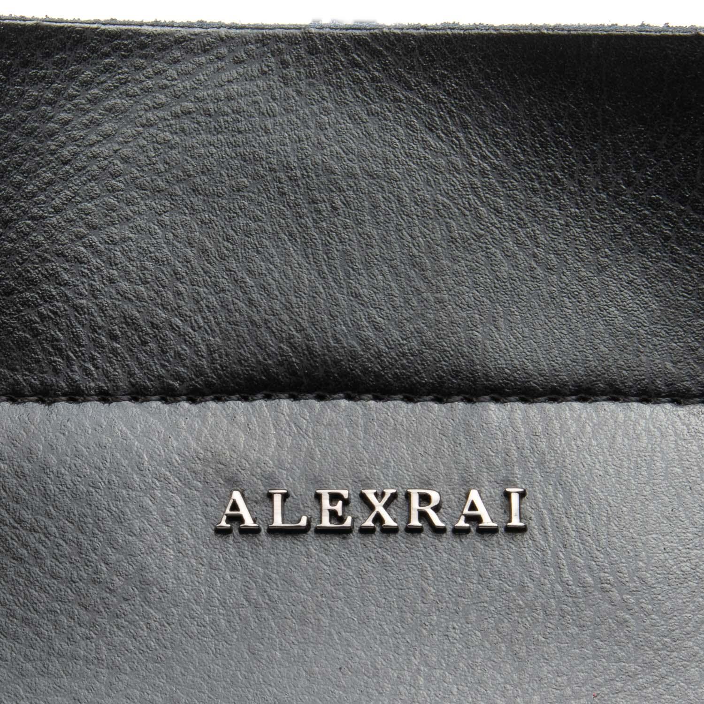 Сумка Женская Классическая кожа ALEX RAI 08-4 8630 black - фото 3