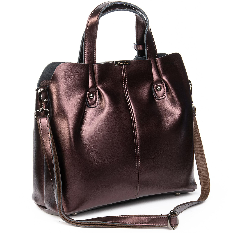Сумка Женская Классическая кожа ALEX RAI 08-4 8655 brown