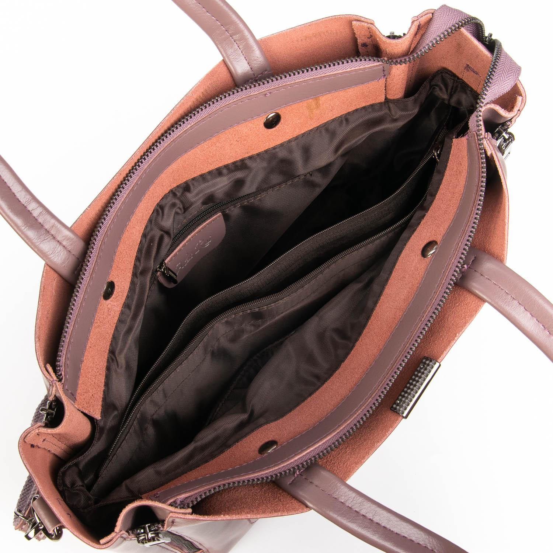 Сумка Женская Классическая кожа ALEX RAI 08-4 8650 purple