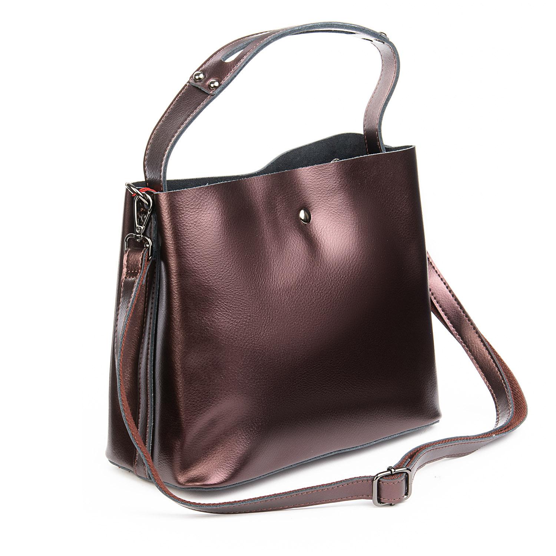 Сумка Женская Классическая кожа ALEX RAI 08-4 8641 brown