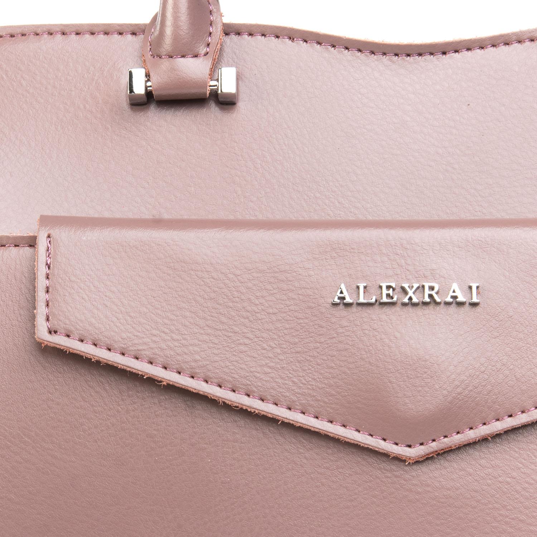 Сумка Женская Классическая кожа ALEX RAI 08-4 8857 purple - фото 3
