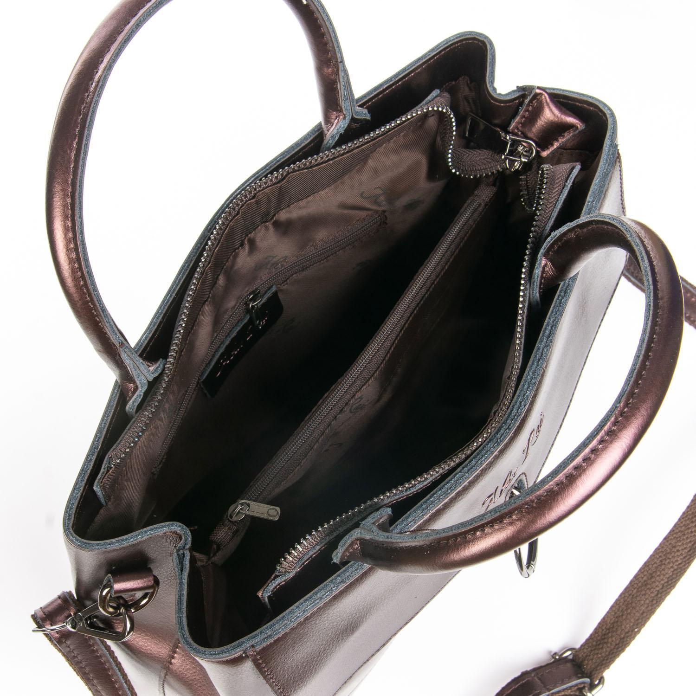Сумка Женская Классическая кожа ALEX RAI 08-4 9921 brown