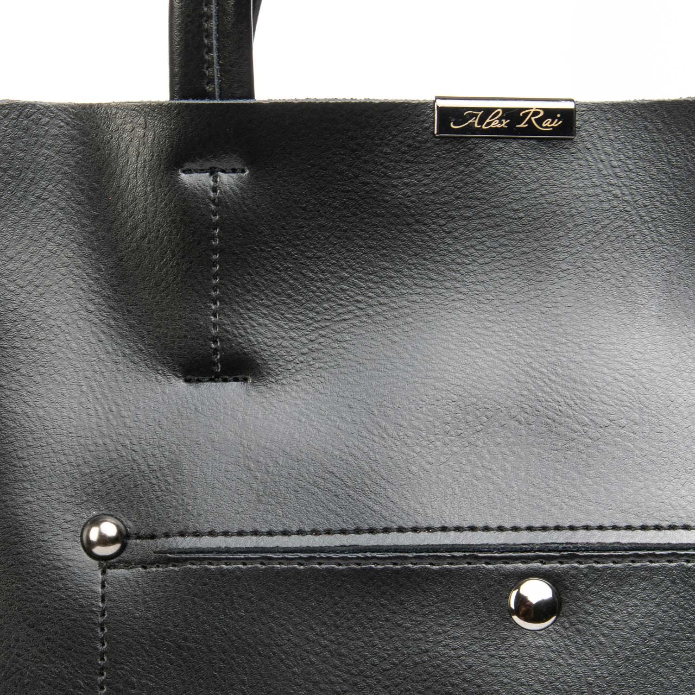Сумка Женская Классическая кожа ALEX RAI 08-4 8650 black