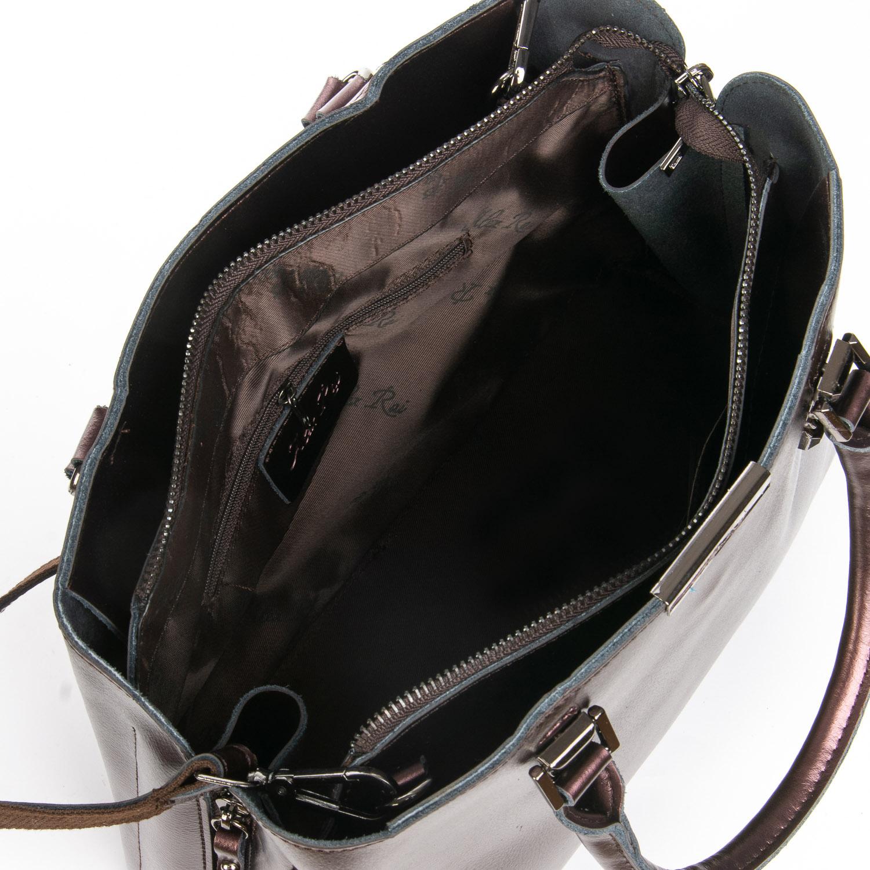Сумка Женская Классическая кожа ALEX RAI 08-4 8772 brown