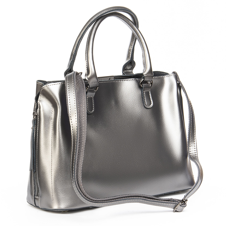 Сумка Женская Классическая кожа ALEX RAI 08-4 8772 grey