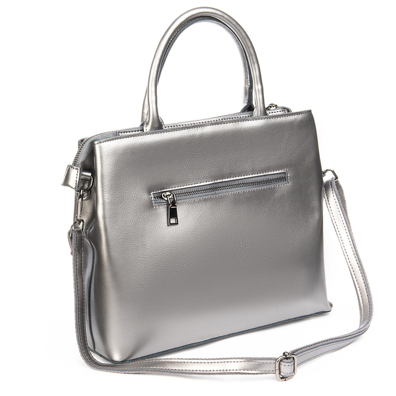 Сумка Женская Классическая кожа ALEX RAI 08-4 9921 grey