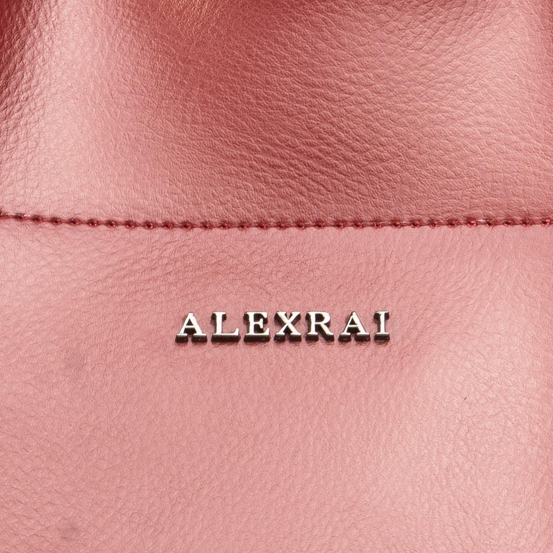 Сумка Женская Классическая кожа ALEX RAI 08-4 J003 wine-red - фото 3