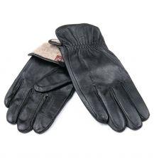 Перчатка Мужская кожа M21/19-2 мод2 black шерсть
