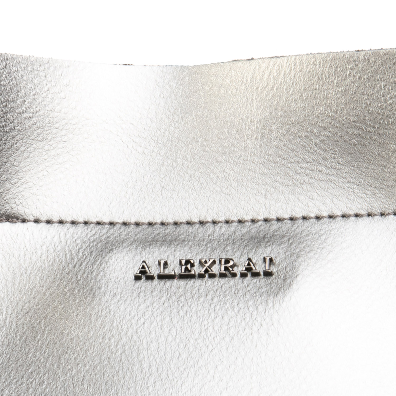 Сумка Женская Классическая кожа ALEX RAI 08-4 8630 grey - фото 3