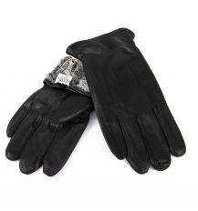 Перчатка Мужская кожа-олень M32/19 мод3 black махра