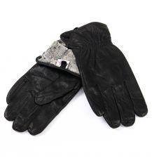 Перчатка Мужская кожа-олень M32/19 мод2 black махра