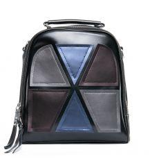 Сумка Женская Рюкзак кожа ALEX RAI 09-1 8694-3 black
