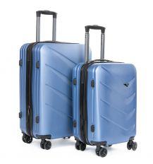 Дорожная Чемодан 2/1 ABS-пластик 8340 blue