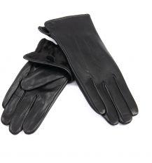 Перчатка Женская кожа F31/19-1 мод1 black флис