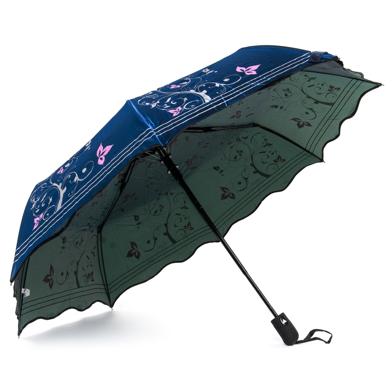 Зонт Полуавтомат Женский полиэстер 332A-1 - фото 3