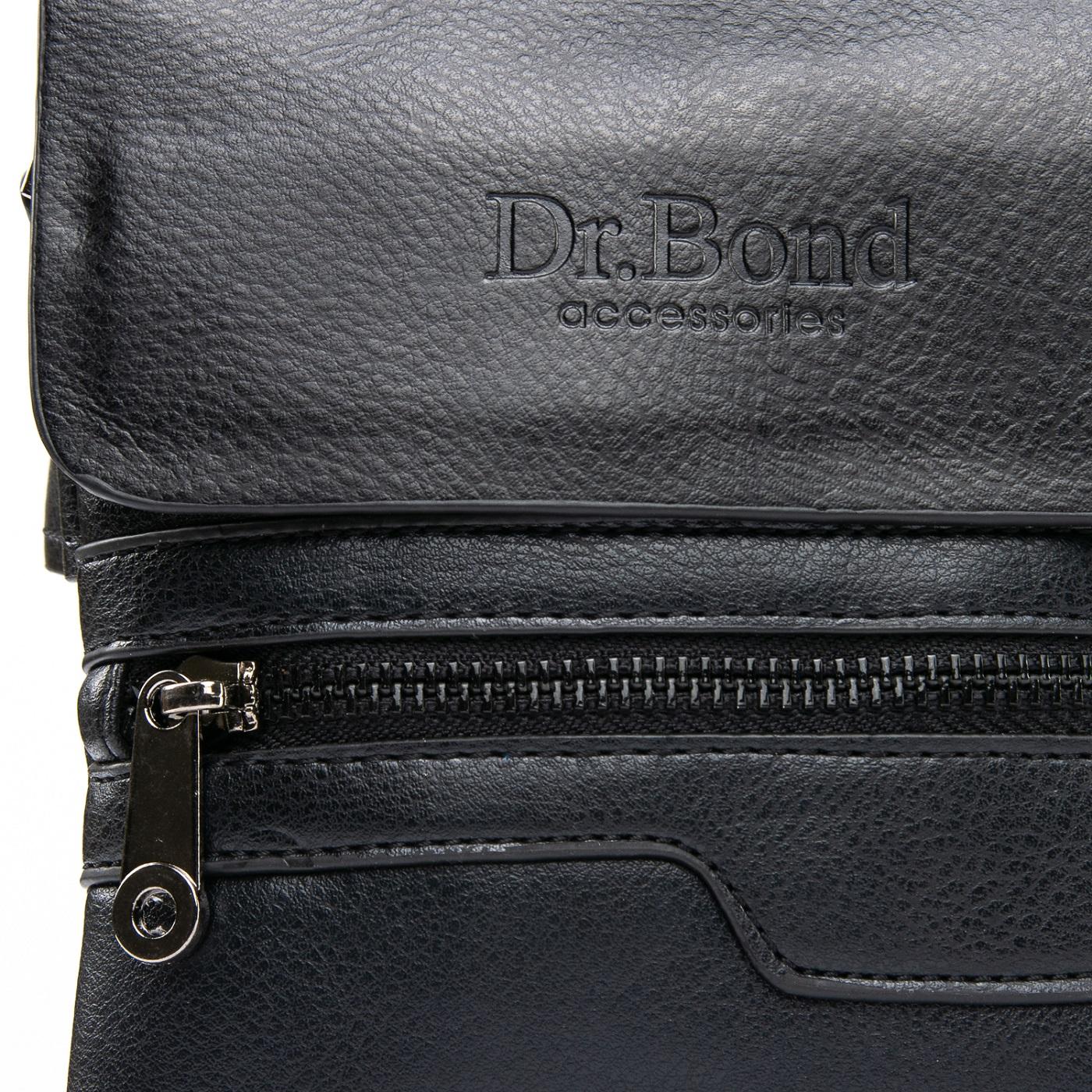 Сумка Мужская Планшет иск-кожа DR. BOND GL 303-0 black - фото 3