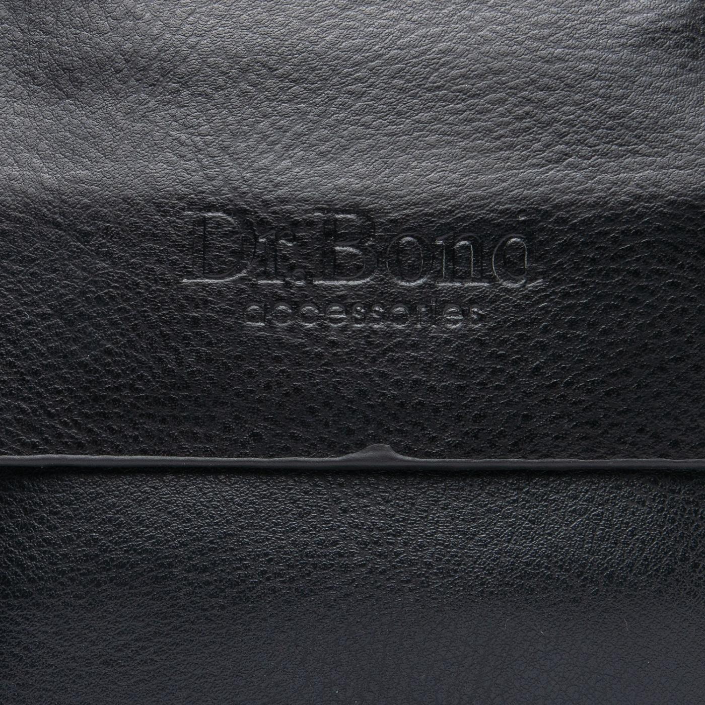 Сумка Мужская Планшет иск-кожа DR. BOND GL 308-0 black - фото 3