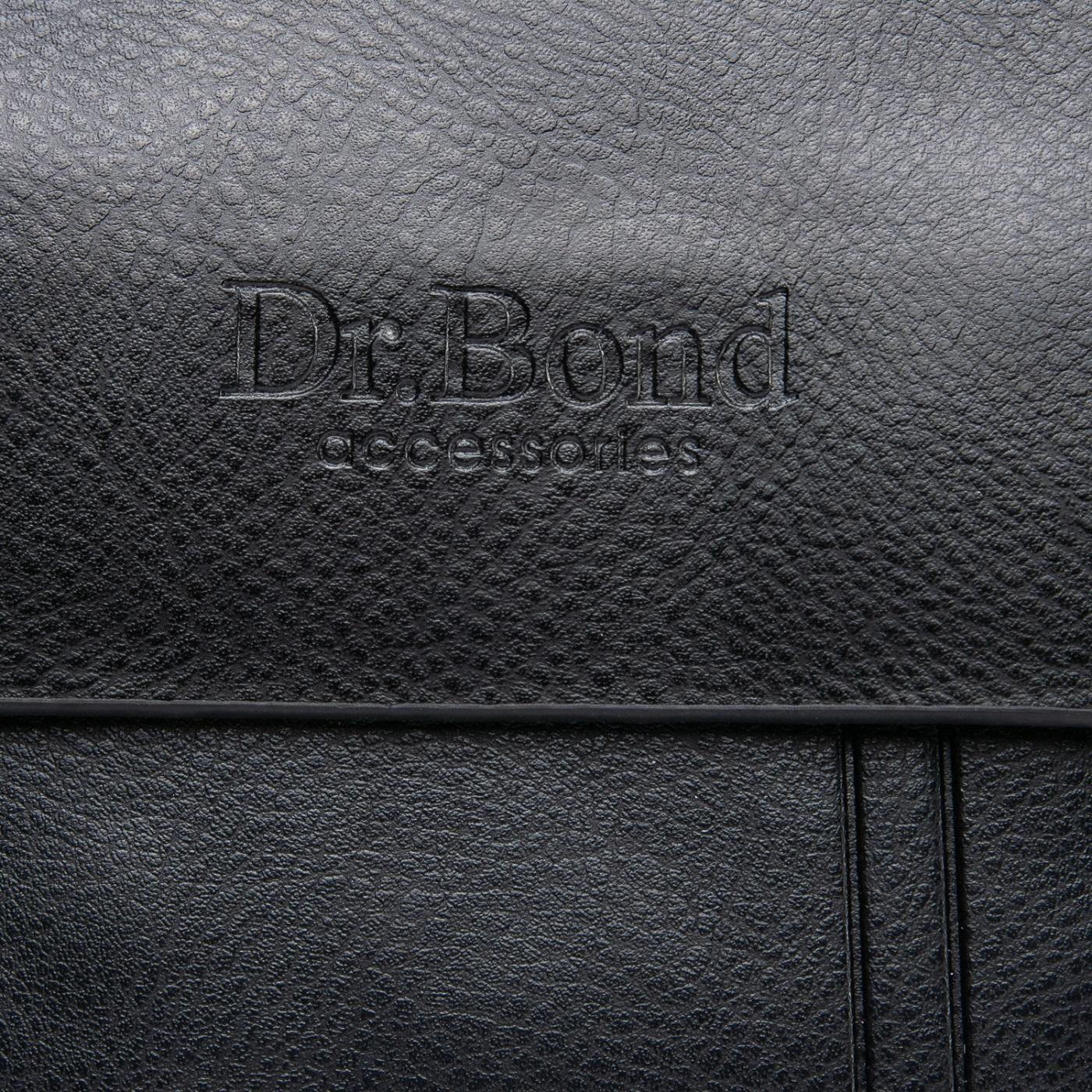 Сумка Мужская Планшет иск-кожа DR. BOND GL 210-0 black - фото 3