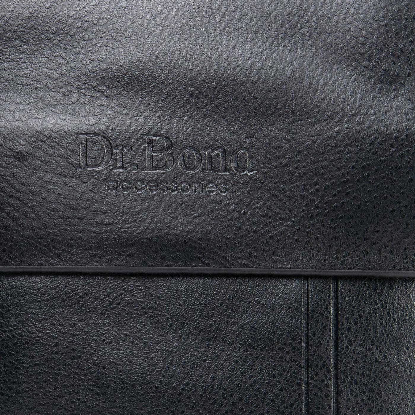 Сумка Мужская Планшет иск-кожа DR. BOND GL 210-1 black - фото 3