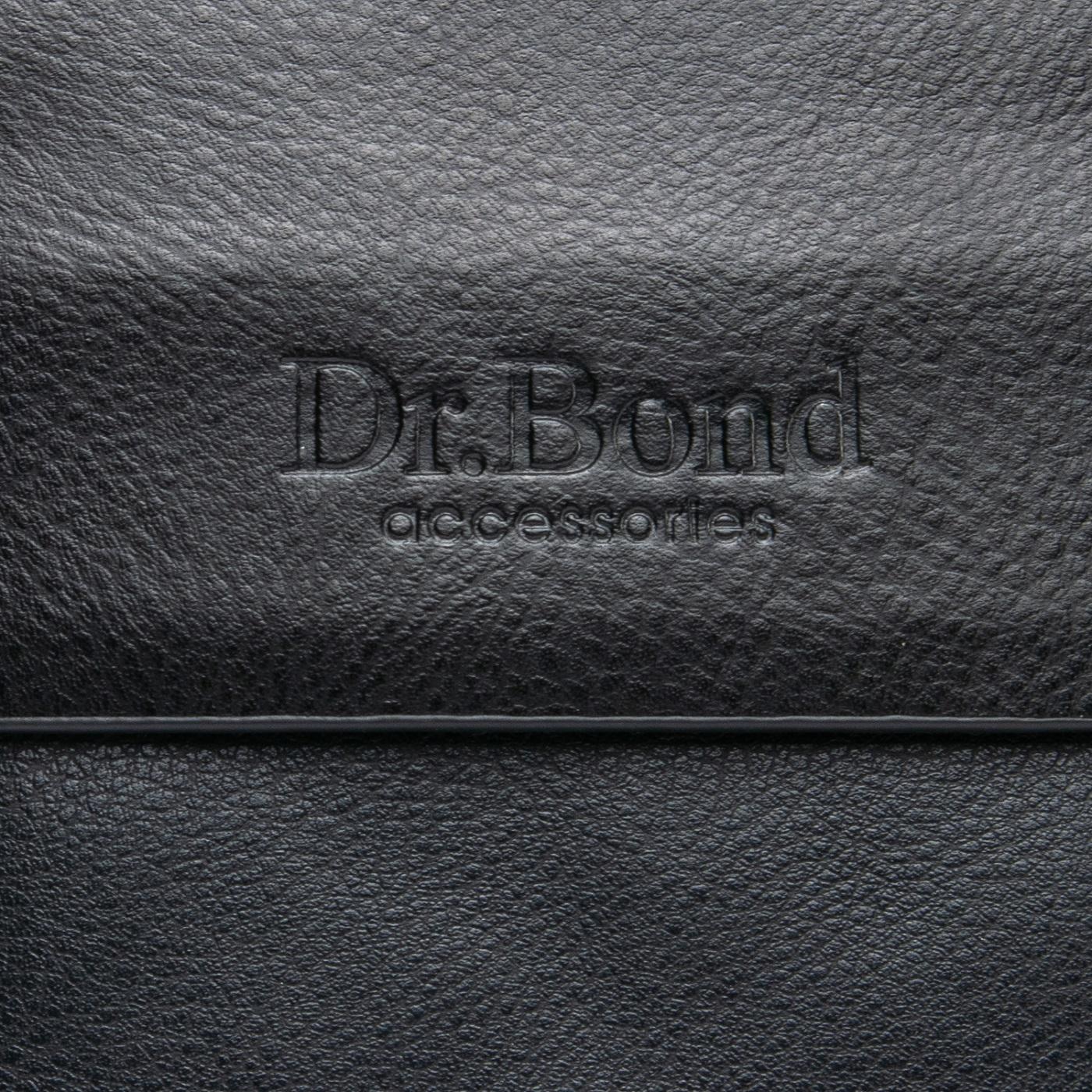 Сумка Мужская Планшет иск-кожа DR. BOND GL 308-2 black - фото 3
