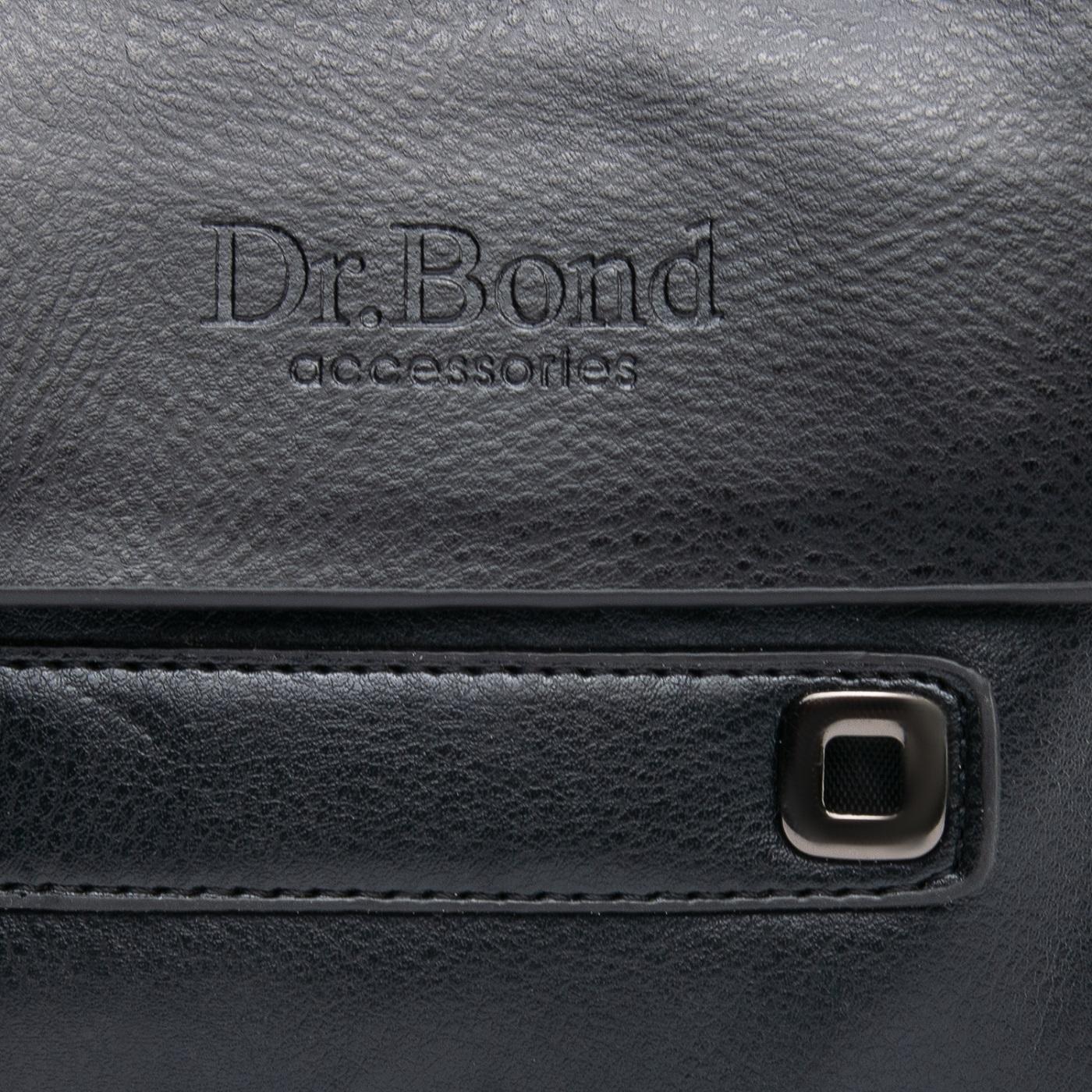 Сумка Мужская Планшет иск-кожа DR. BOND GL 512-0 black - фото 3