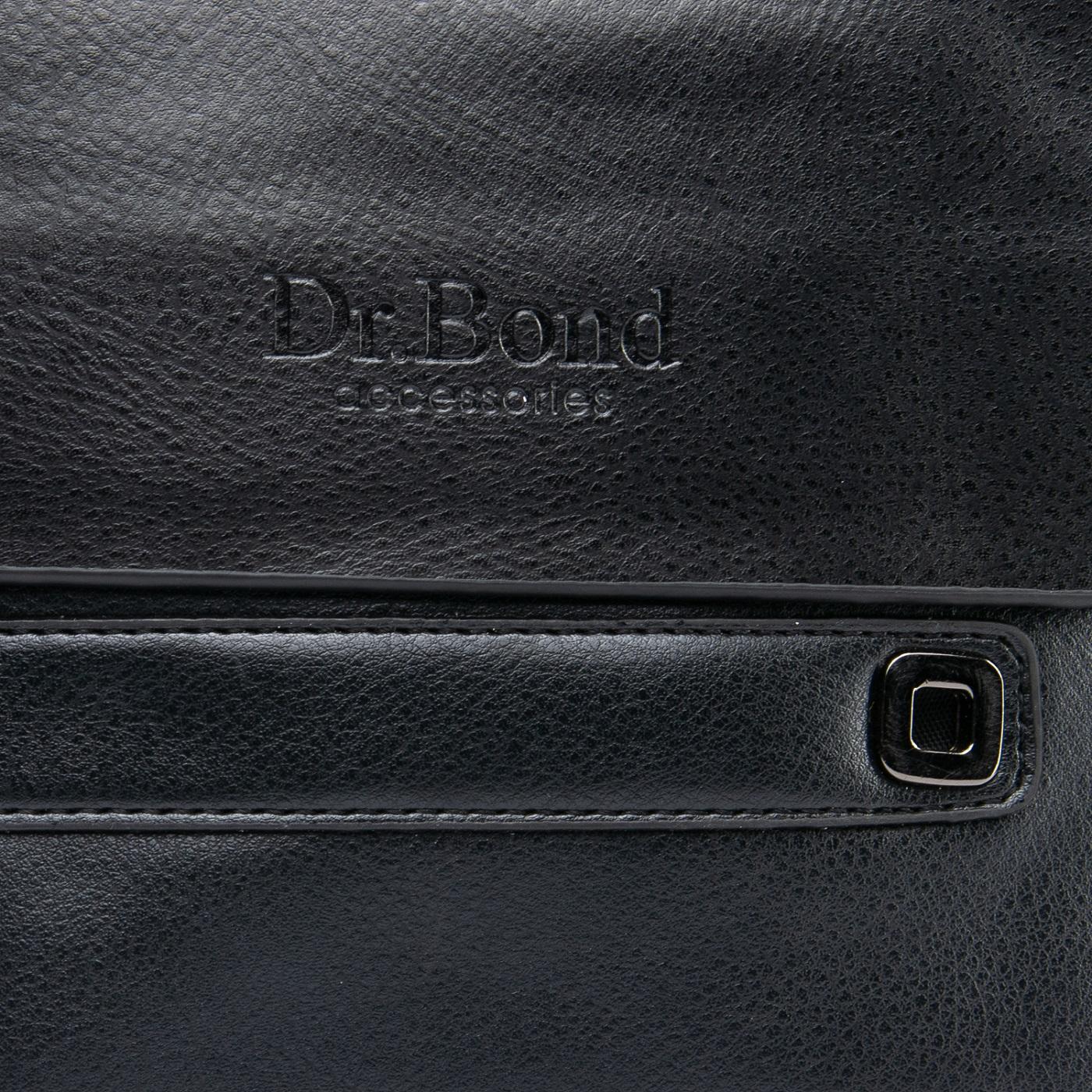 Сумка Мужская Планшет иск-кожа DR. BOND GL 512-2 black - фото 3