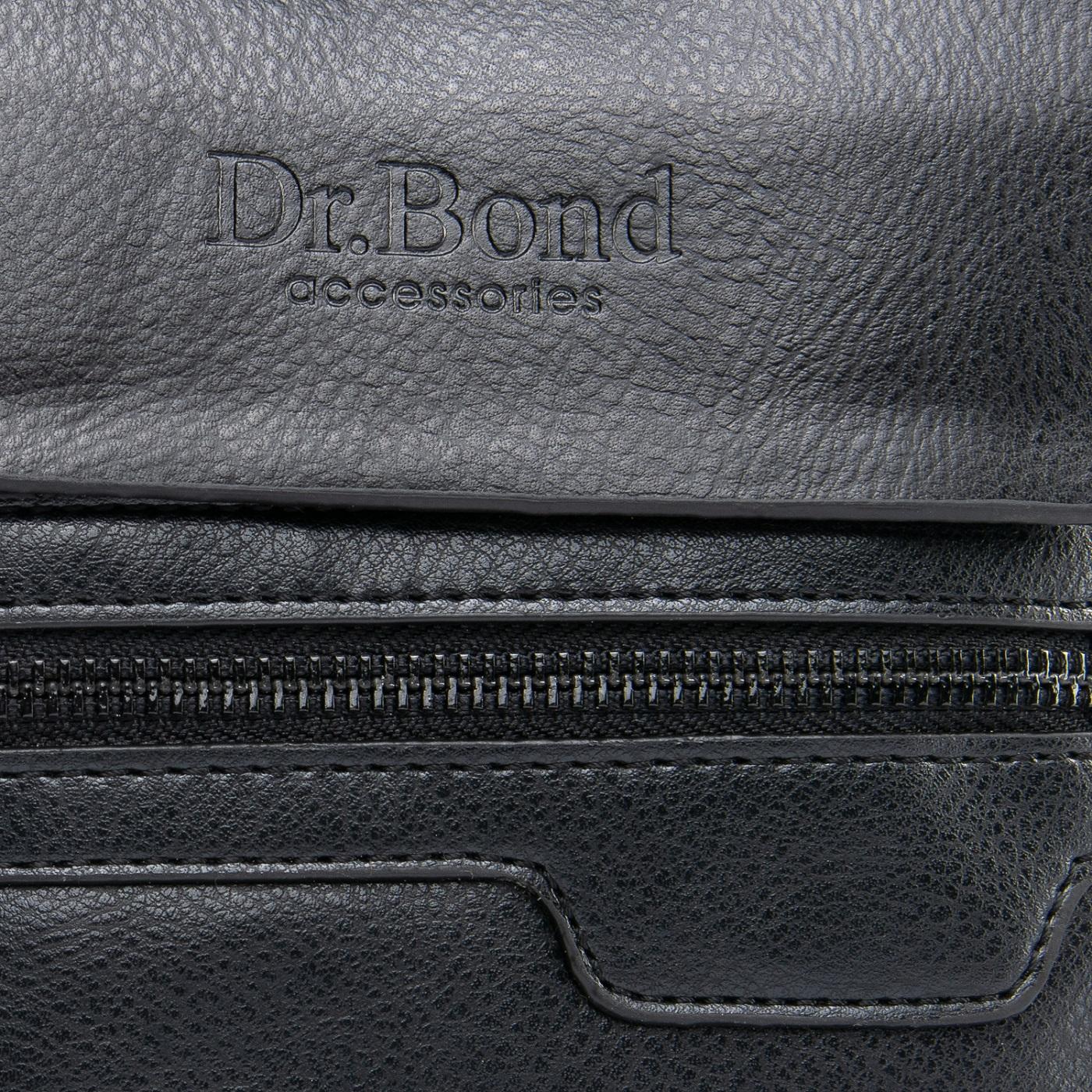 Сумка Мужская Планшет иск-кожа DR. BOND GL 303-1 black - фото 3