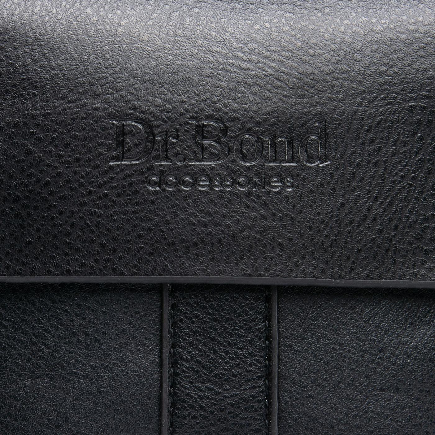 Сумка Мужская Планшет иск-кожа DR. BOND GL 202-0 black - фото 5