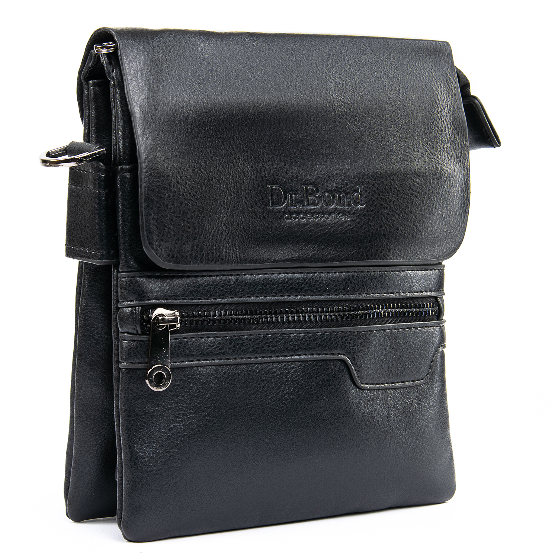 Сумка Мужская Планшет иск-кожа DR. BOND GL 303-2 black