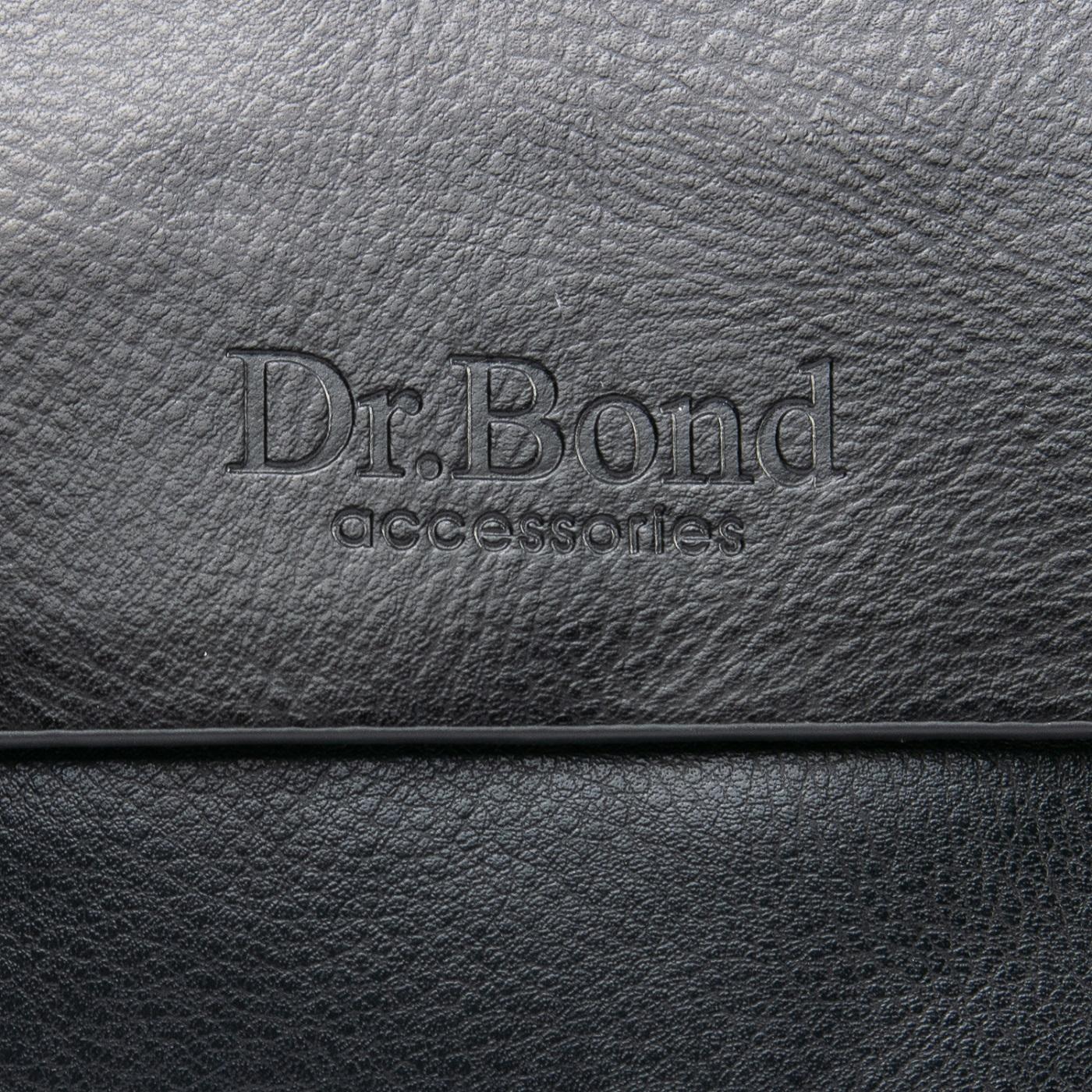 Сумка Мужская Планшет иск-кожа DR. BOND GL 308-1 black - фото 3