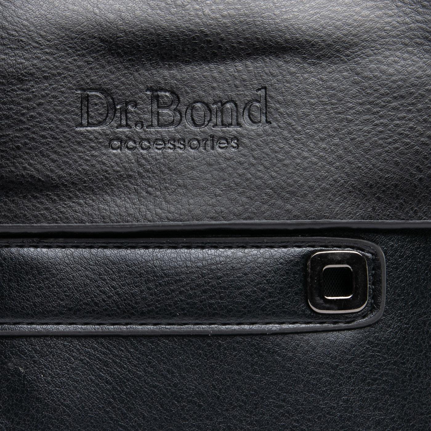 Сумка Мужская Планшет иск-кожа DR. BOND GL 512-1 black - фото 3