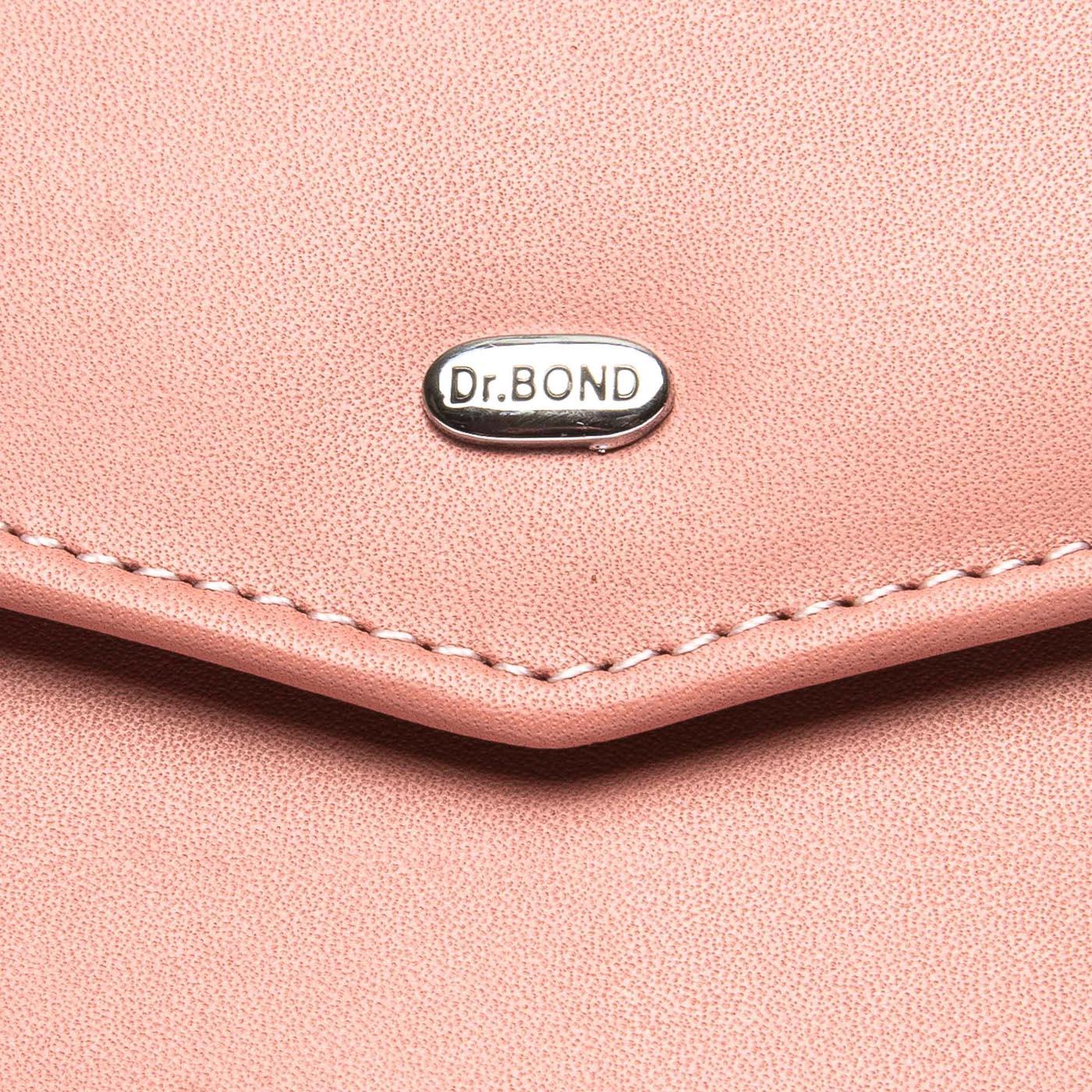 Кошелек Classic кожа DR. BOND WS-3 pink