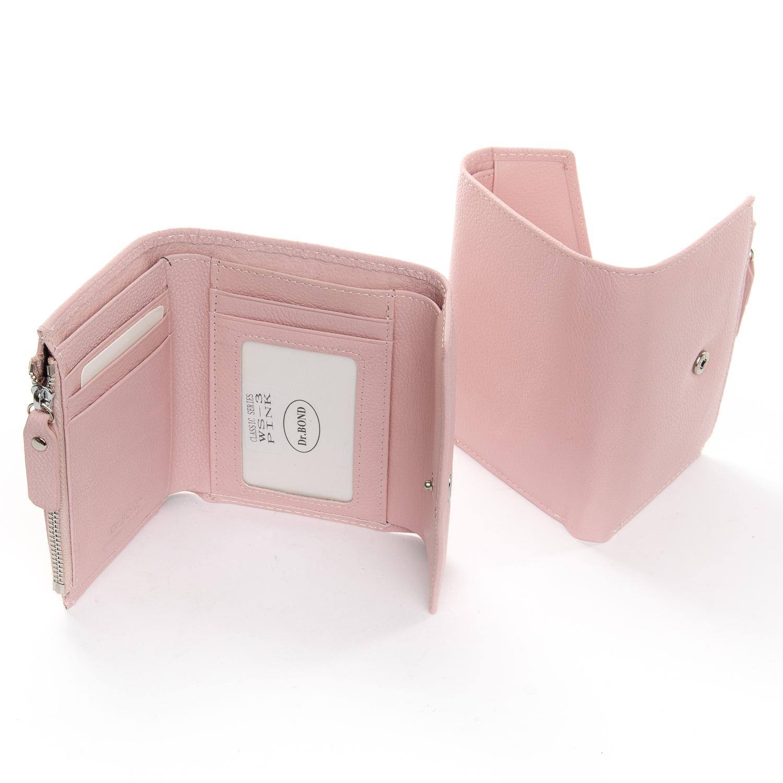 Кошелек Classic кожа DR. BOND WS-3 pink - фото 4