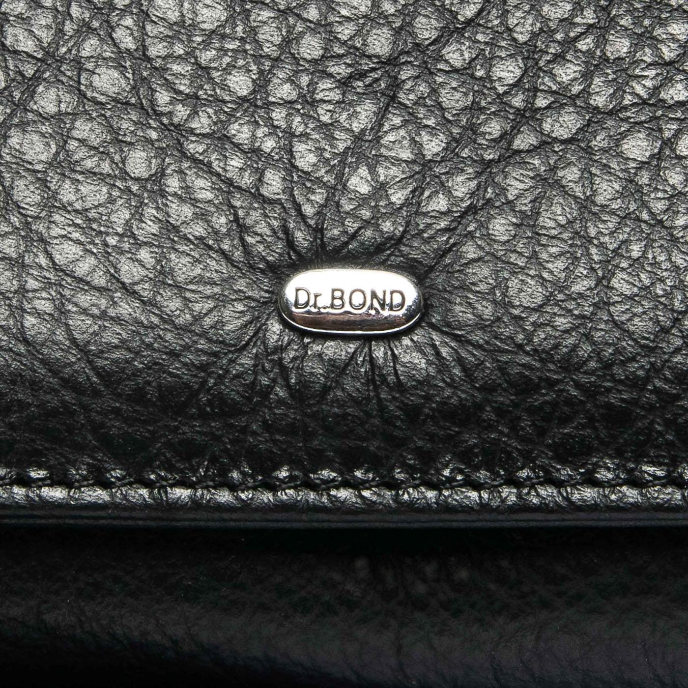 Кошелек Classic кожа DR. BOND WS-7 black