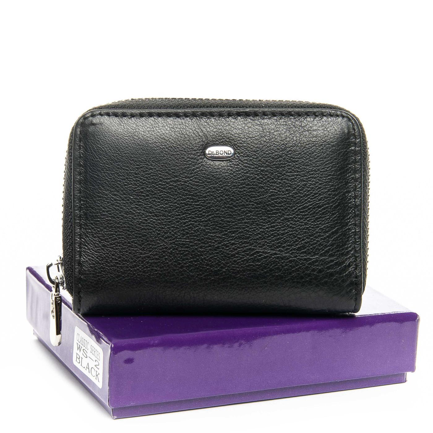 Кошелек Classic кожа DR. BOND WS-2 black цв коробка
