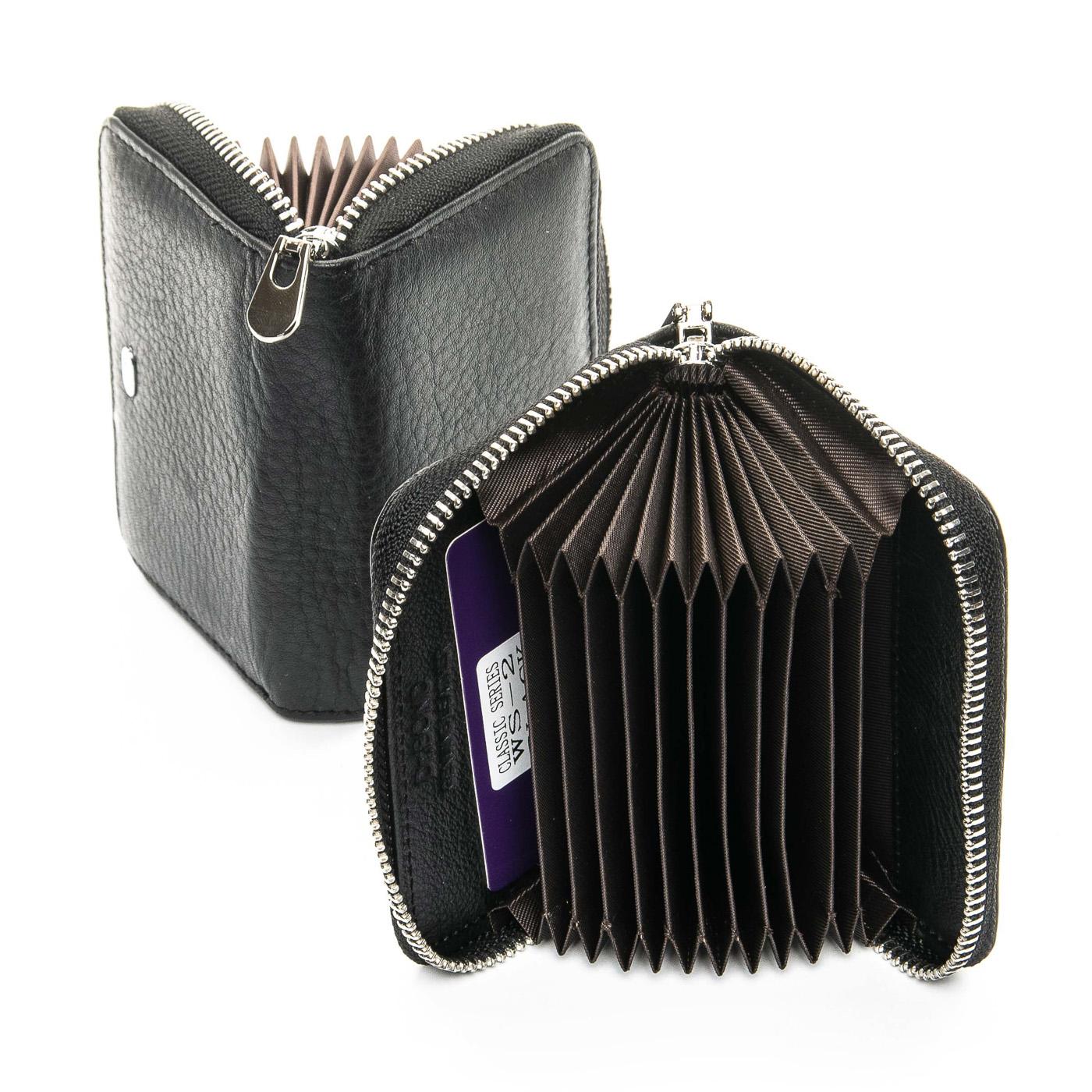Кошелек Classic кожа DR. BOND WS-2 black цв коробка - фото 4