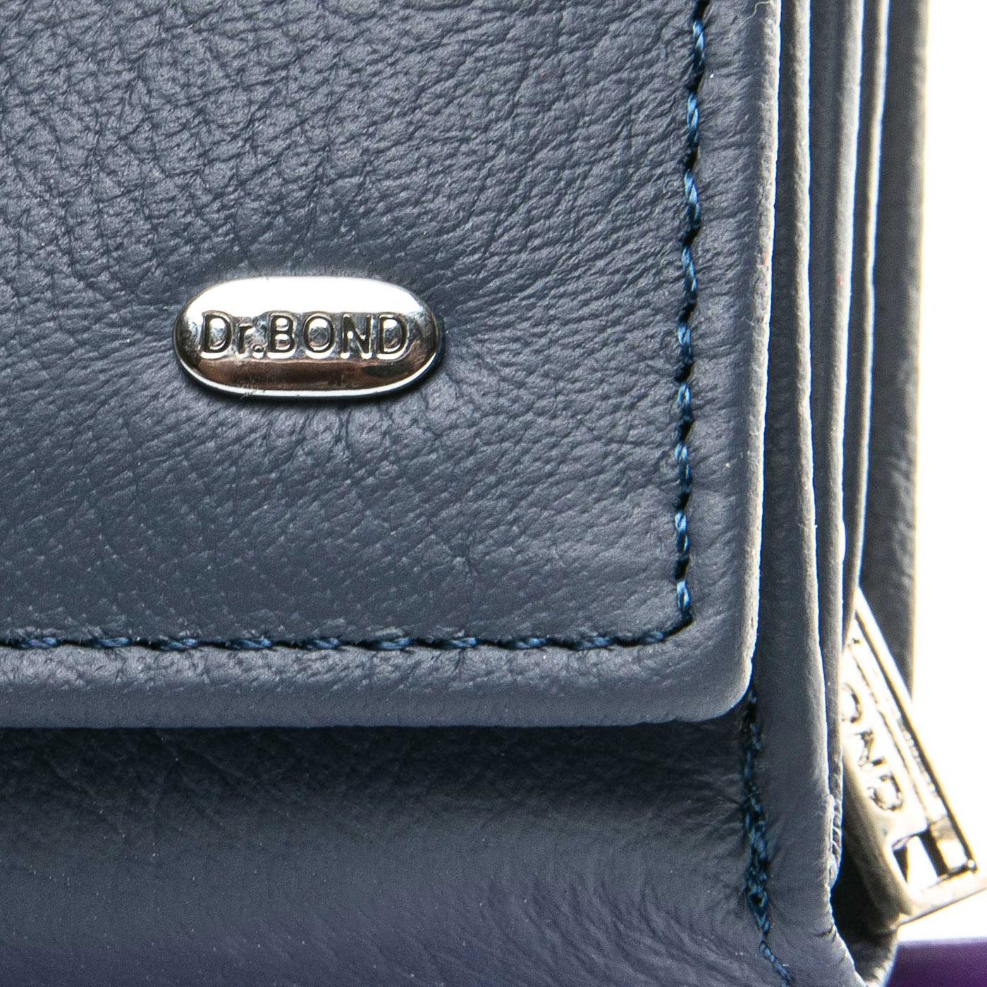 Кошелек Classic кожа DR. BOND WS-10 blue - фото 3