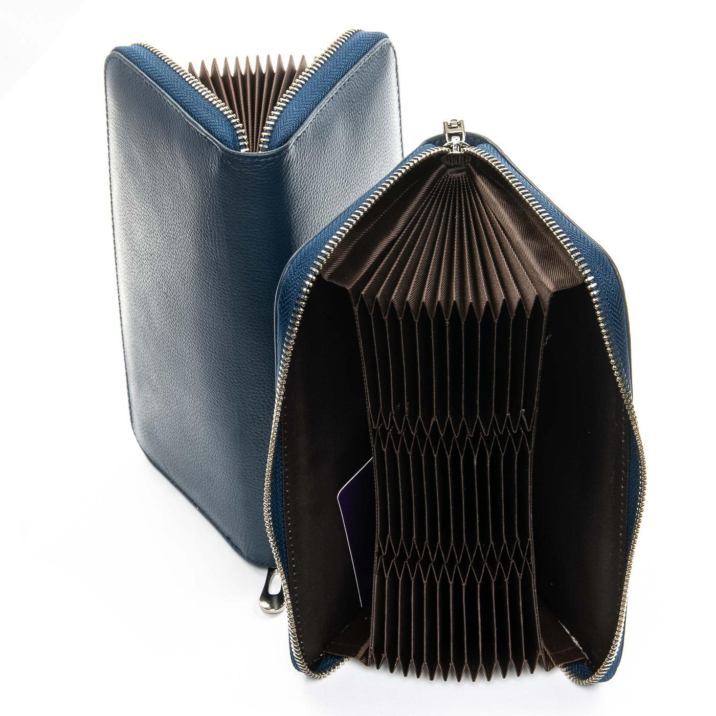Кошелек Classic кожа DR. BOND WS-8 blue - фото 4