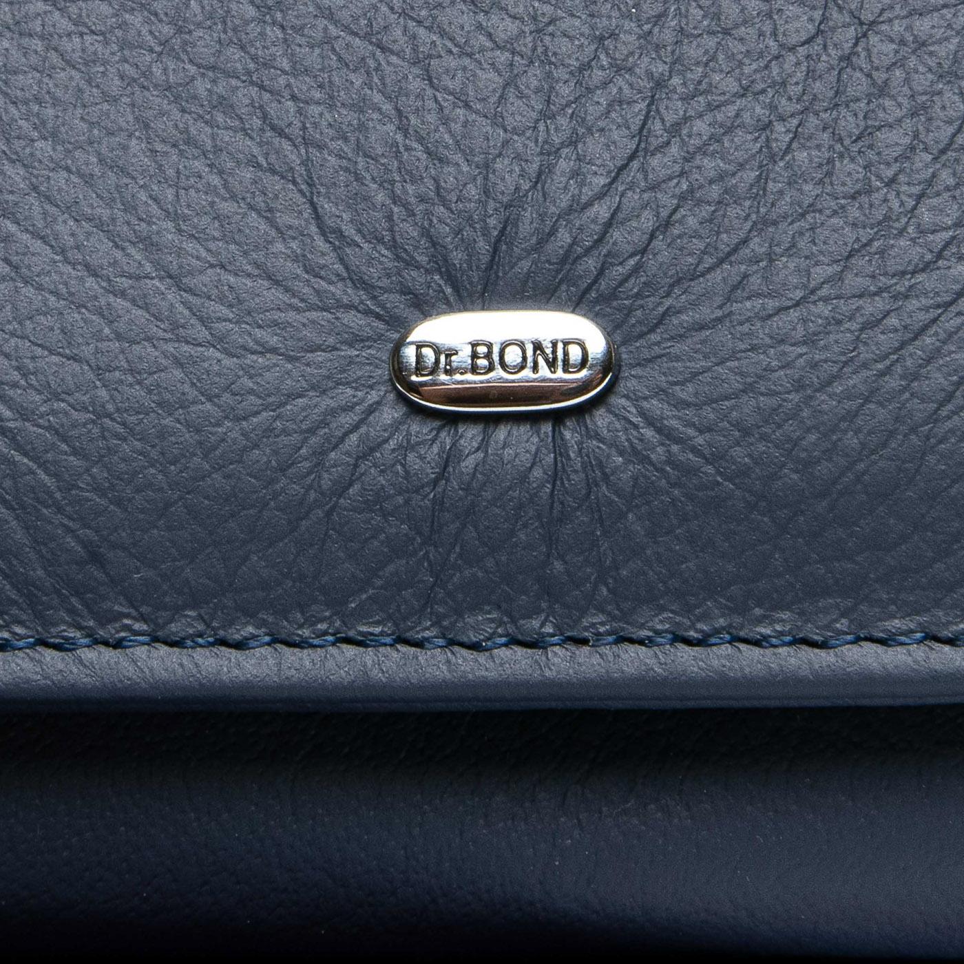 Кошелек Classic кожа DR. BOND WS-7 blue - фото 3