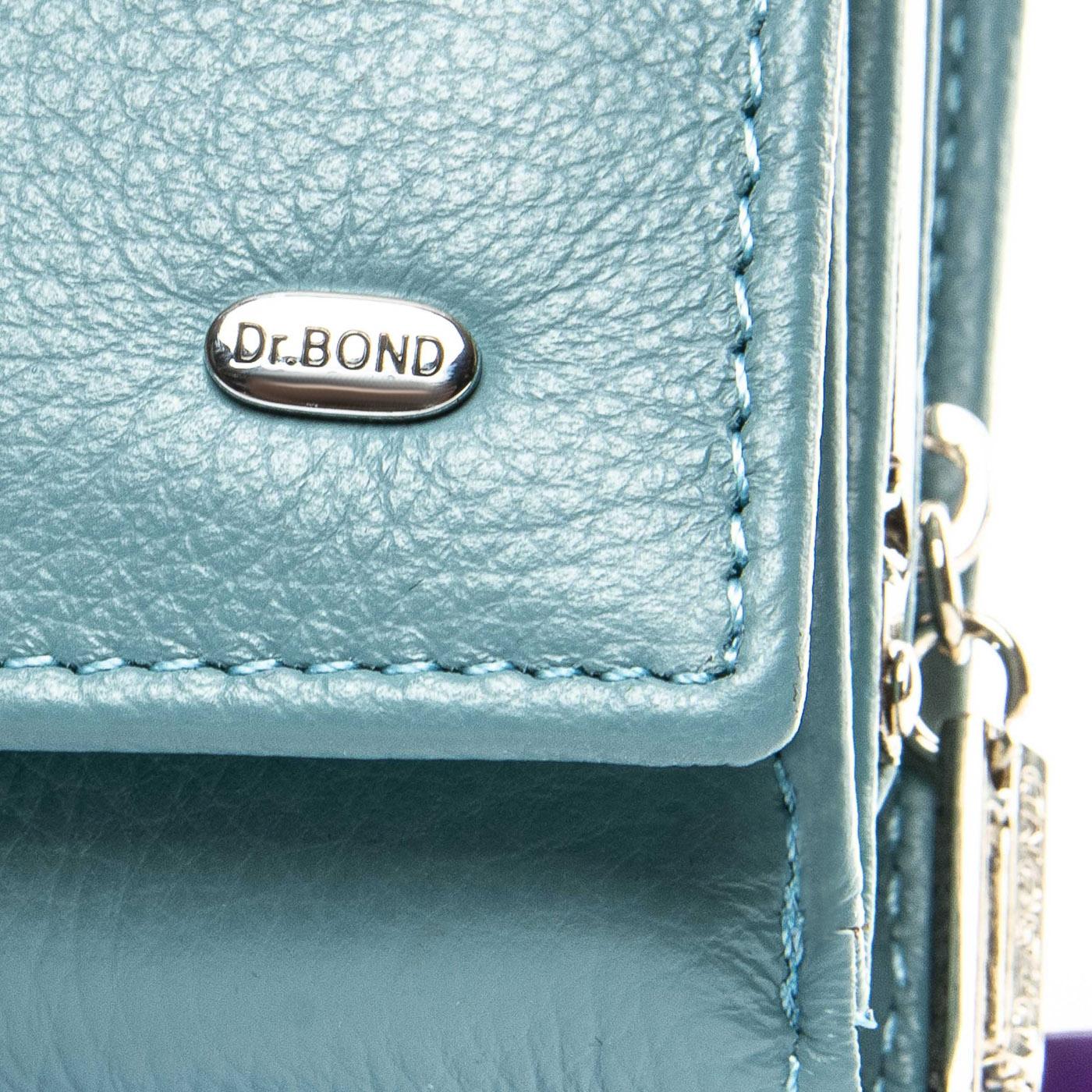 Кошелек Classic кожа DR. BOND WS-10 light-blue - фото 3