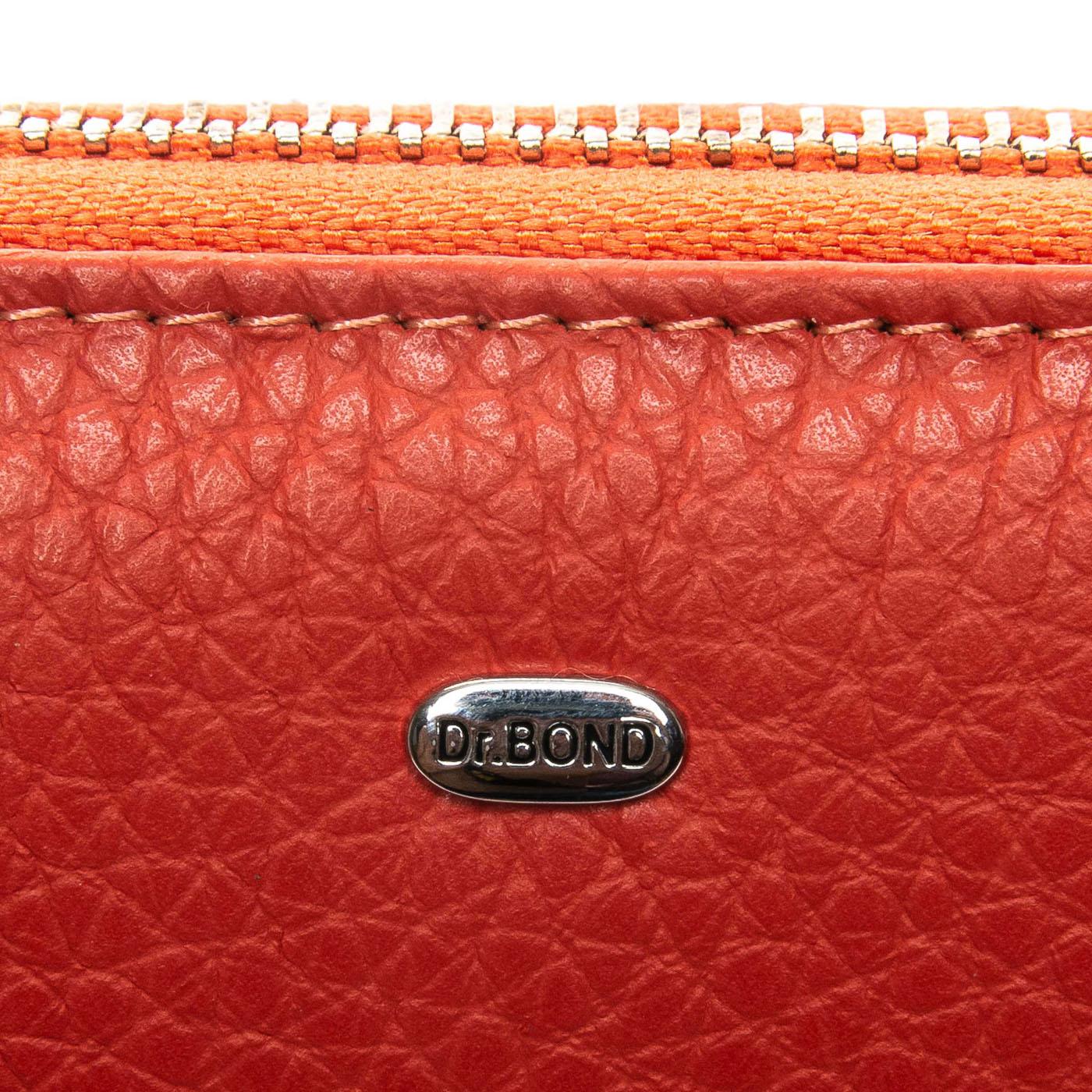 Кошелек Classic кожа DR. BOND WS-8 orange - фото 3