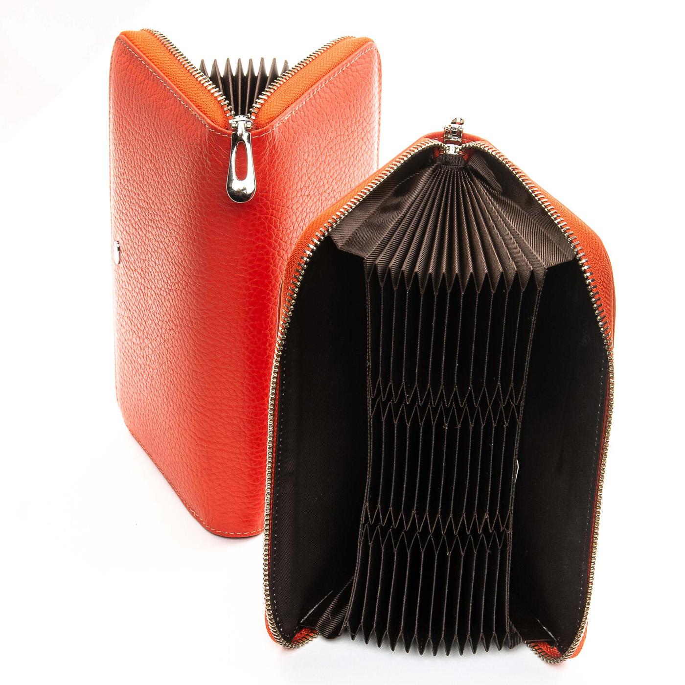 Кошелек Classic кожа DR. BOND WS-8 orange - фото 4