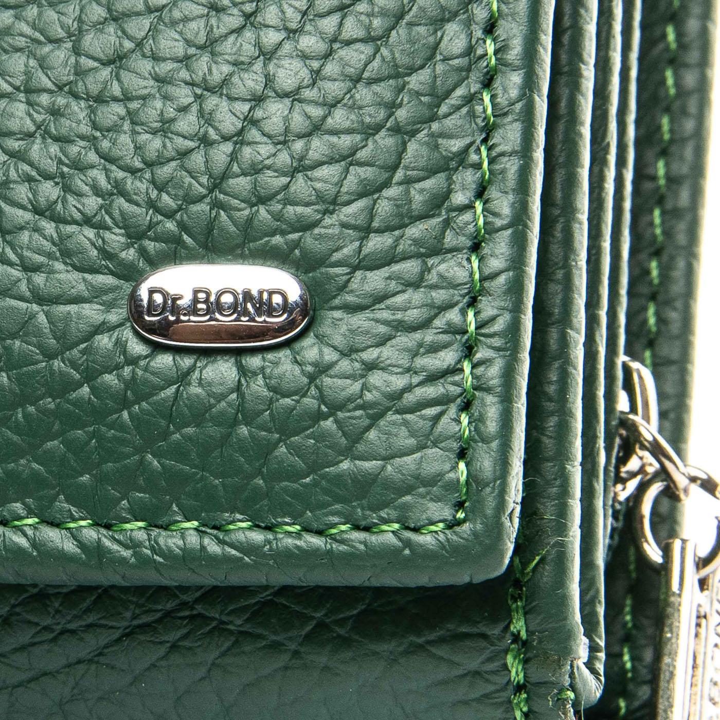 Кошелек Classic кожа DR. BOND WS-10 green - фото 3