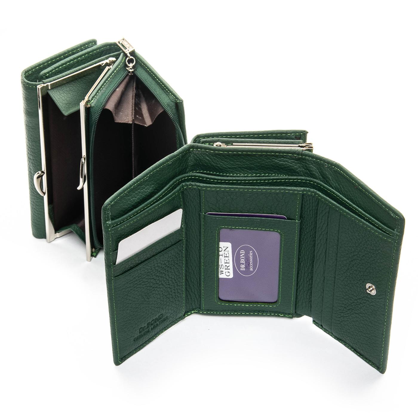 Кошелек Classic кожа DR. BOND WS-10 green - фото 4