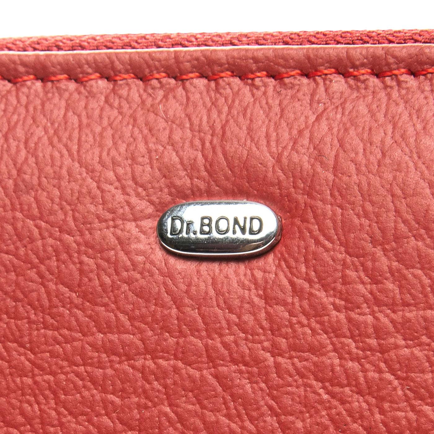 Кошелек Classic кожа DR. BOND WS-2 red - фото 4